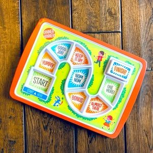 """Dinner Winner"" Kids' Dinner Plate/Tray"